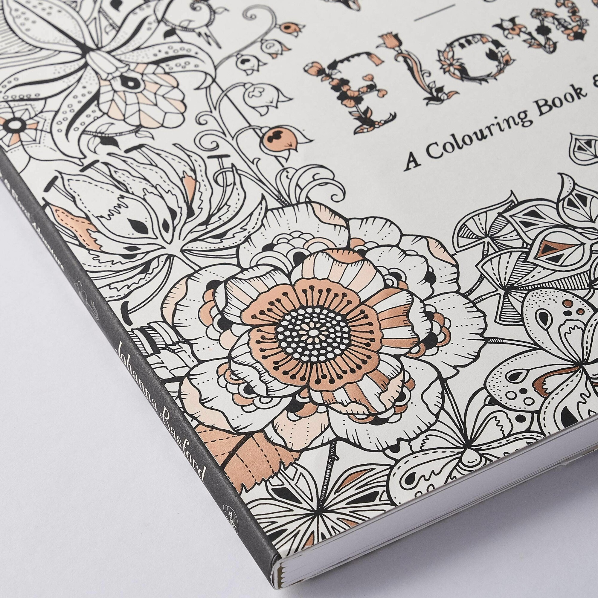 World Of Flowers Coloring Books Adults Live In Colors