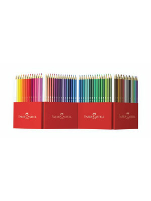 Set creioane colorate eco, 60 buc/set, FABER-CASTELL