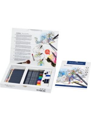 Goldfaber Aqua watercolour pencil, gift set, 18 pieces