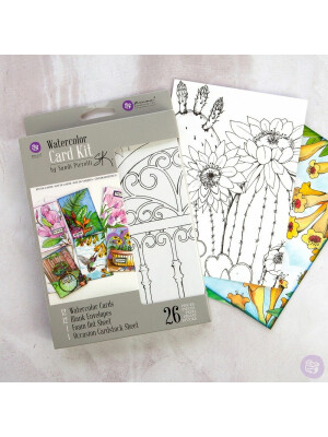 WATERCOLOR CARD KIT