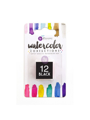 Watercolor Confections - Black