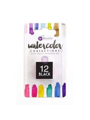 Watercolor Confections - Black