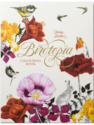 Birdtopia: A Fantastical Colouring Book