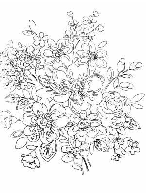 Cath Kidston Colouring: Floral