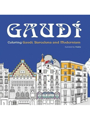 Gaudi Colouring Book