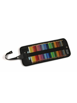 Set creioane Polycolor Koh-I-Noor in roll up