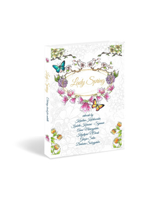 Lady Spring - coloring book