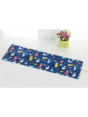 Pencils Roll Up Case - Cats