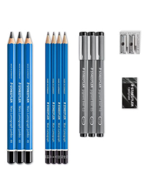 Mars® Lumograph® 100 Drawing pencils