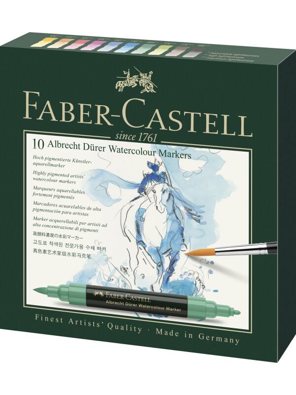 Faber-Castell Albrecht Dürer Watercolour Marker, wallet of 10