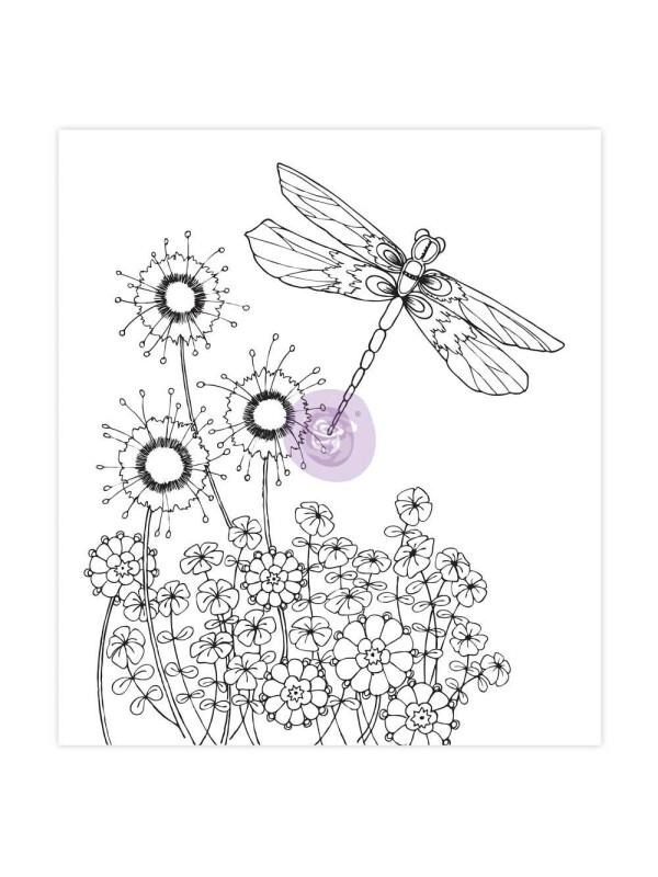 Sandi Pirrelli Coloring Book - Flights Of Fancy
