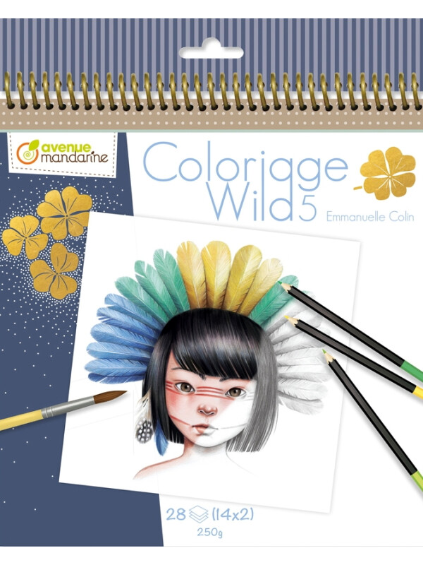 Coloriage Wild 5