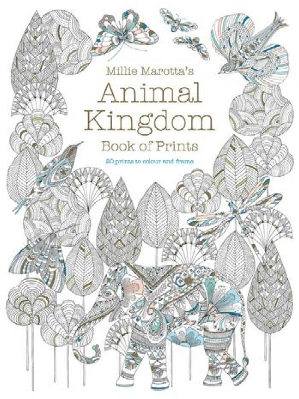 Millie Marotta's Animal kingdom book of prints