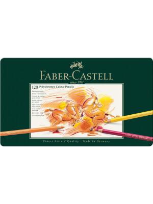 Creioane colorate culori Polychromos Faber-Castell