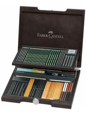 Cutie Lemn 95 Buc Pitt Monochrome 2 Faber-Castell