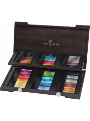 Cutie Lemn 90 Culori Pitt Artist Pen Faber-Castell