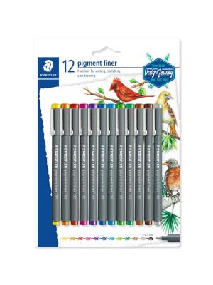 STAEDTLER®308 12 pigment liners set