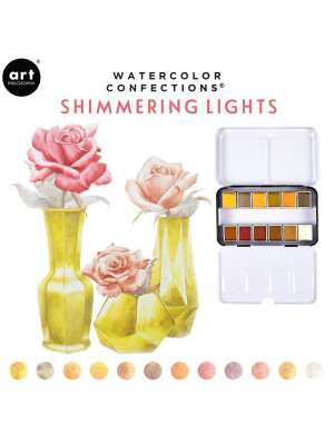 Acuarele Watercolor - Shimmering Lights