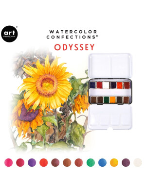 Watercolor Confections - Odyssey