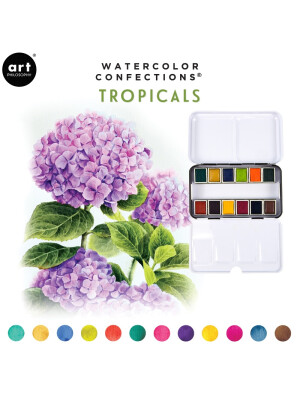 Acuarele Watercolor -Tropicals