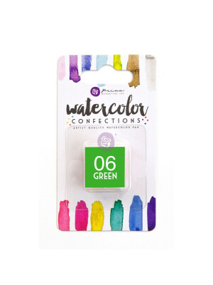 Watercolor Confections - Green