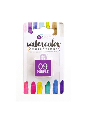 Watercolor Confections - Purple