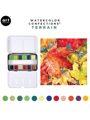 Watercolor Confections: Terrain