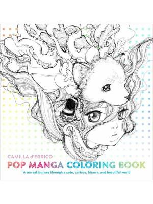 Pop Manga - Coloring Book
