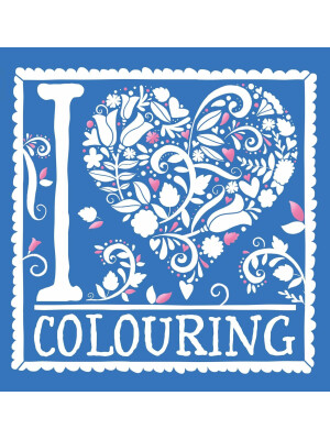 I Heart Colouring : Pretty Pocket Colouring