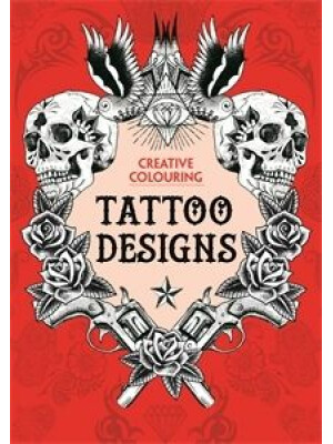 Tattoo Designs Creative Colouring Book