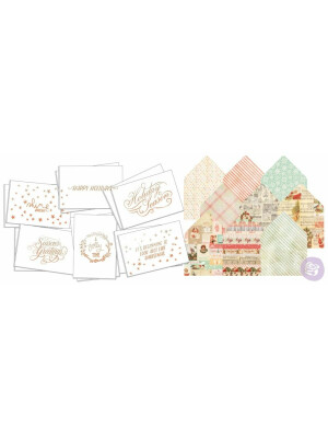 Christmas Watercolor Card Kit