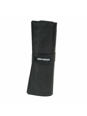 Roll up Koh-I-Noor negru pentru 12 creioane