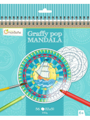 Graffy Pop Mandala - Garcon