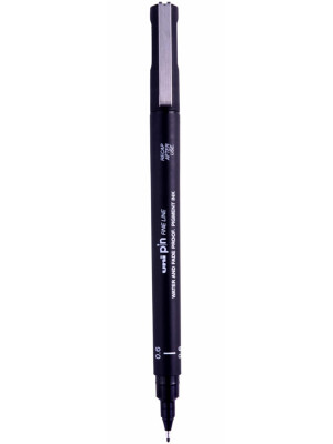 uni PIN 02 Fine Liner Drawing Pen 0.2mm
