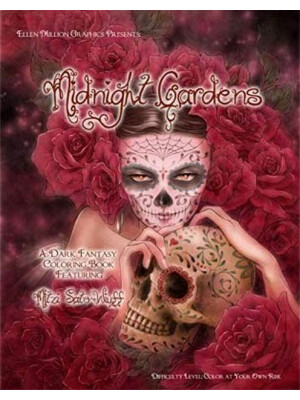 Midnight Gardens - coloring book Mitzi Sato-Wiuff
