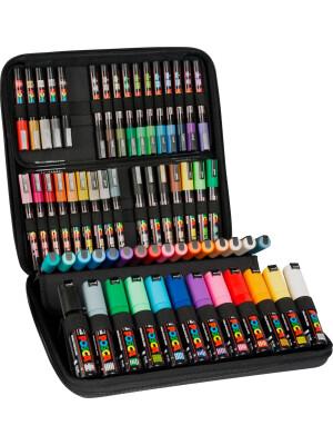 UNI Posca 24 markers case