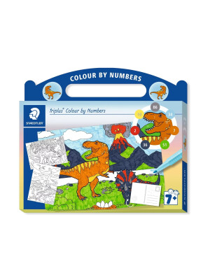 Set triplus® Colour by Numbers - Cai