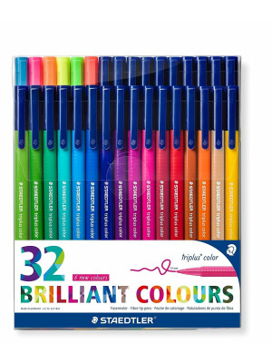 triplus® color 323 Triangular fibre-tip pen