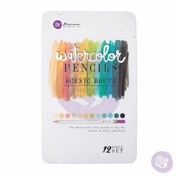 Watercolor Pencils - Scenic Route