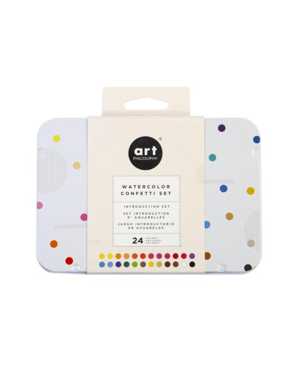 Watercolor Confetti Set