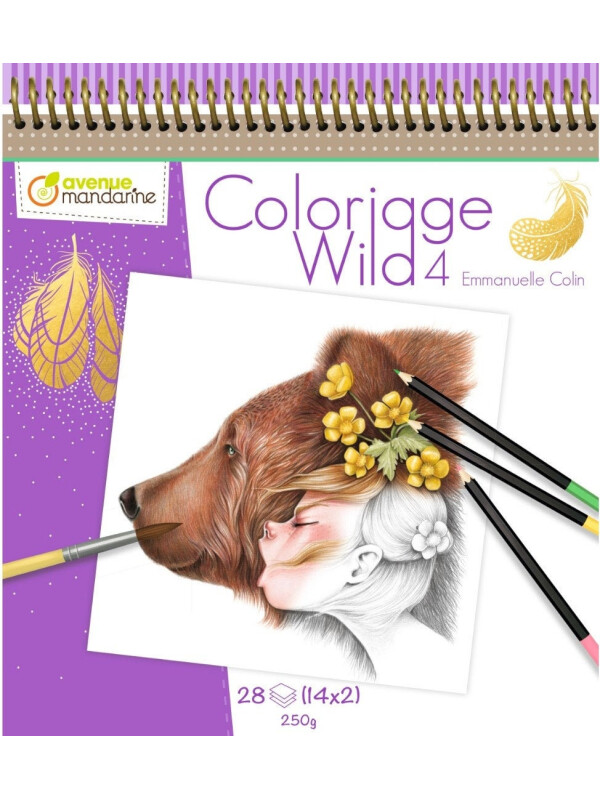 Coloriage Wild 4 By Emmanuelle Colin