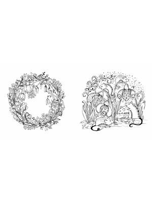 Mein Frühlingsspaziergang: Ausmalen und durchatmen (Primavara)