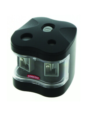 Derwent - Battery Operated Twin Hole Sharpener