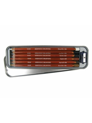 Derwent - Drawing Pencils 6 Tin
