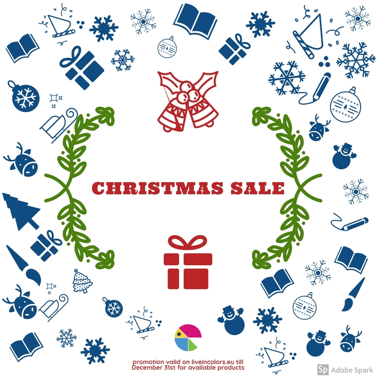 Christmas Sale 2019 Live In Colors